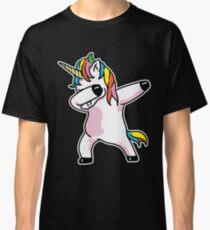 Dabbing Unicorn Shirt Classic T-Shirt
