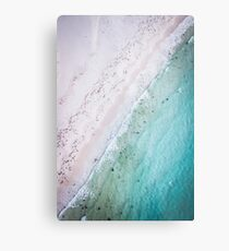Ansons Bay from above, located near Bay Of Fires on the North-East Coast of Tasmania. Metal Print