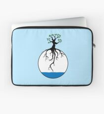 Tree with root in the water Laptop Sleeve