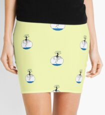Tree with root in the water Mini Skirt