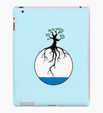 Tree with root in the water iPad Case/Skin