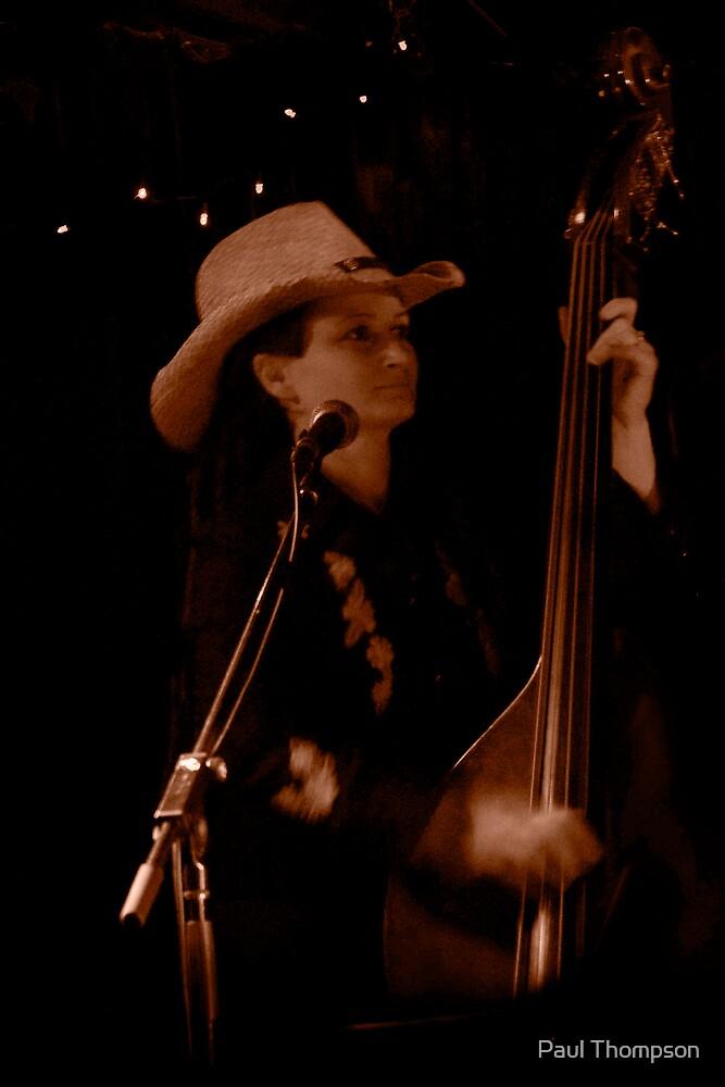 Diana Fusco - Bass Player by Paul Thompson