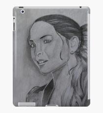Kristin Kreuk Pencil Drawing iPad Case/Skin