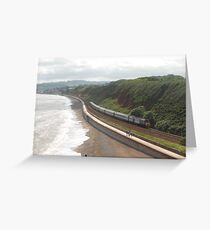 CrossCountry HST at Langstone Rock Greeting Card