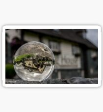 Ambleside - Log House Sticker