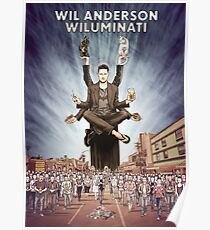 Wil Anderson - Wiluminati Poster Poster