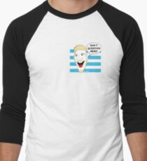 Comedic Swede Men's Baseball ¾ T-Shirt
