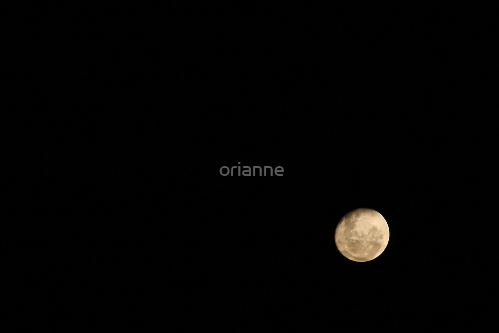 Moon by orianne