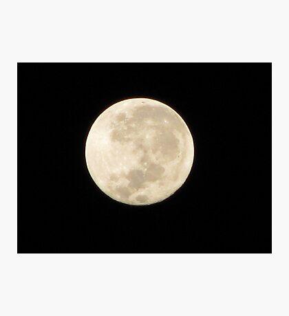 Moon in Taurus Photographic Print