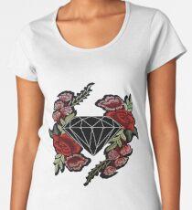 ROSE DIAMOND HYPEBEAST SKATE Women's Premium T-Shirt