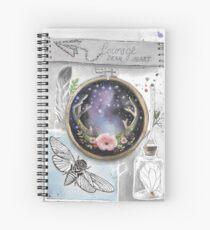 Courage, dear heart Spiral Notebook