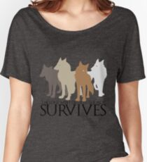 But the Pack Survives. Women's Relaxed Fit T-Shirt