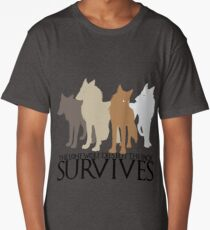But the Pack Survives. Long T-Shirt