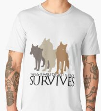 But the Pack Survives. Men's Premium T-Shirt