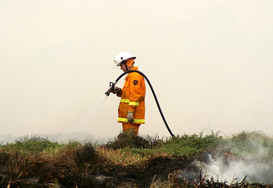 Lonely Fireman by wildrider58