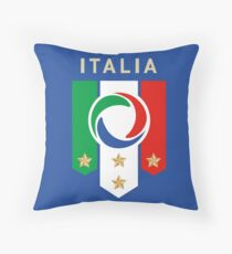 Italia Football, Italy Soccer, Forza Italia, Italia Calcio Throw Pillow