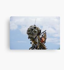 Trash Man Canvas Print