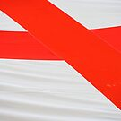 English flag abstract by stuwdamdorp