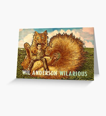 Wil Anderson WILARIOUS landscape Greeting Card