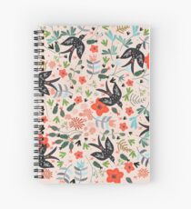 Around the Garden Spiral Notebook
