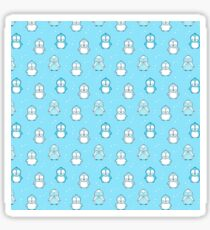 Penguins and dots Sticker