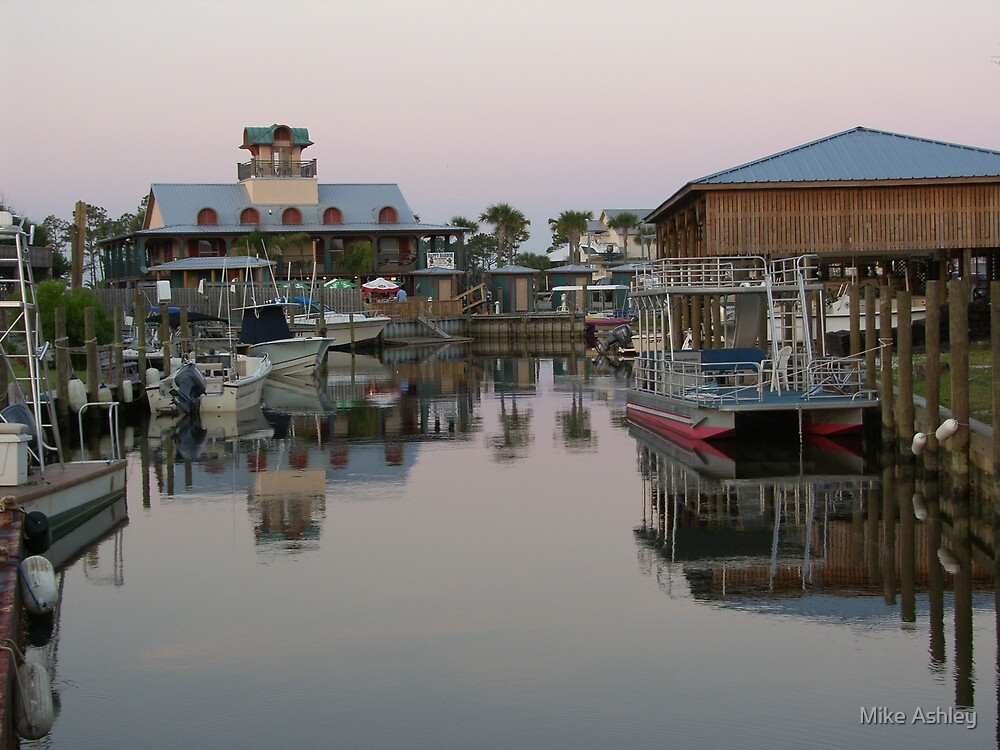 Harbor Reflections by Christian Eccleston