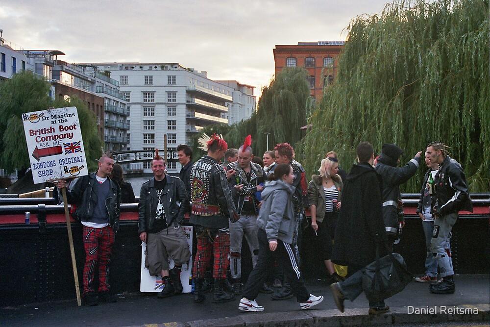punks at camden market by Daniel Reitsma