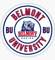 BELMONT UNIVERSITY  Sticker