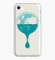 H2O *every drop counts iPhone Case/Skin