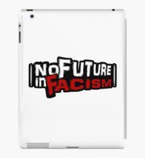"""""""No Future in Facism"""" Punk Sticker iPad Case/Skin"""