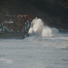 Spring tide at Sandsend by dougie1