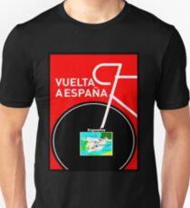 VUELTA A ESPANA: Bicycle Racing Advertising Print T-Shirt