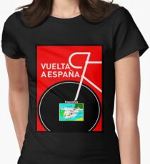 VUELTA A ESPANA: Bicycle Racing Advertising Print T-Shirt