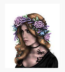 Lavender Redhead Photographic Print