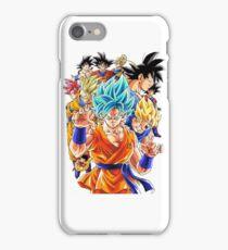 Goku's Transformation iPhone Case/Skin