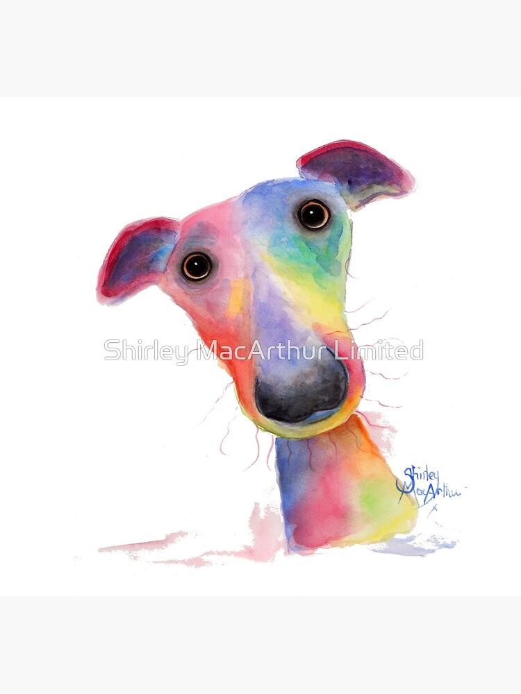 WhipPeT GreyHouND DOG 'HANK' VON SHIRLEY MACARTHUR von ShirleyMacA