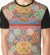 Forbidden palace Flowers Graphic T-Shirt