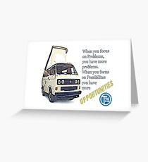 VW T25 Focus Greeting Card