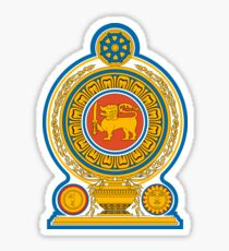 Sri Lanka Emblem Sticker