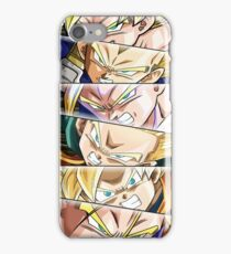 The Family of Saiyans iPhone Case/Skin