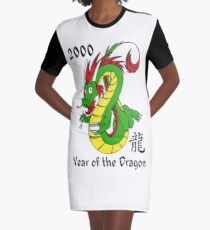 Year of the Dragon (2000) Graphic T-Shirt Dress