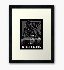 GTR R35 LB Performance Framed Print