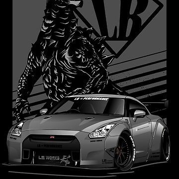 GTR R35 LB Performance by aquillacallista
