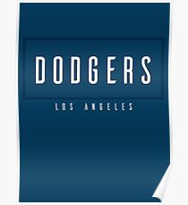 Dodgers LAD Poster