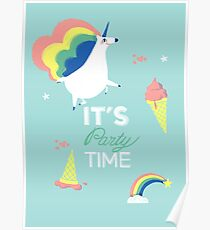 It's party time Poster