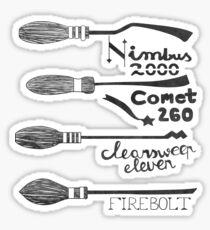 The best brooms Sticker