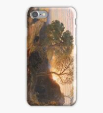 Sunset 1861 Samuel Palmer iPhone Case/Skin