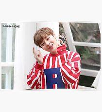 Wanna One (워너원) - Park Jihoon (박지훈) Poster