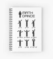Cuaderno de espiral ¡Baile de matemáticas!