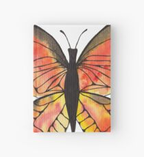 Whimsical Butterfly - Orange Hardcover Journal